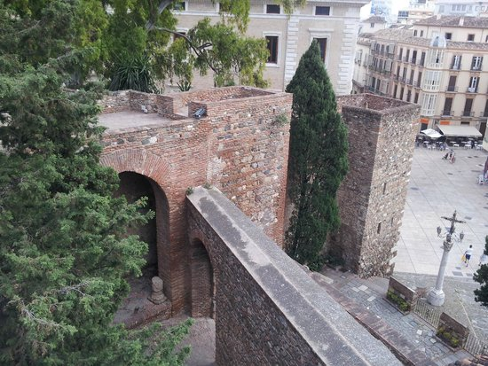 Alcazaba (fort) : Fortress walls & towers