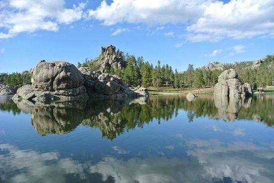 Sylvan Lake: just beautiful