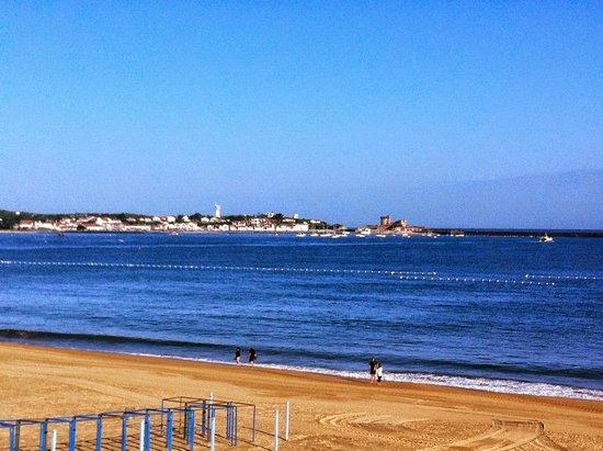 Hôtel de la Plage : chambre vue plage