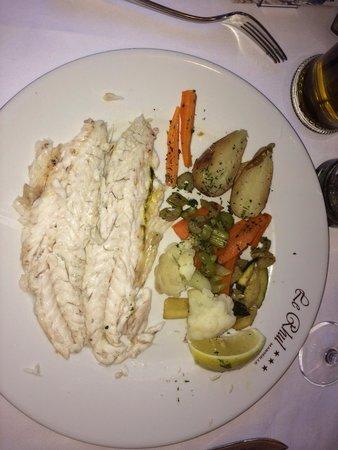 Le Rhul: Рыба в соли, вкусно