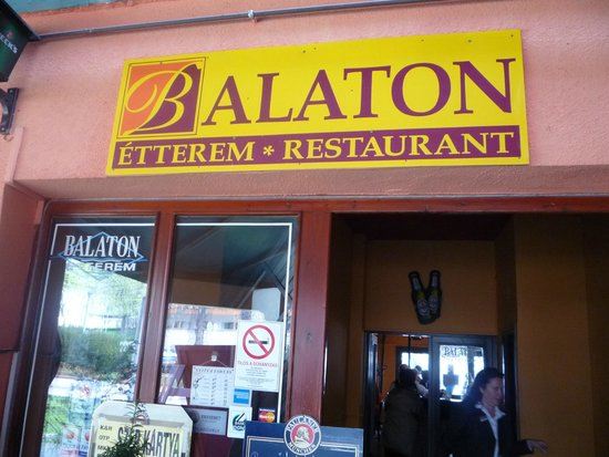 Balaton Etterem: Вход