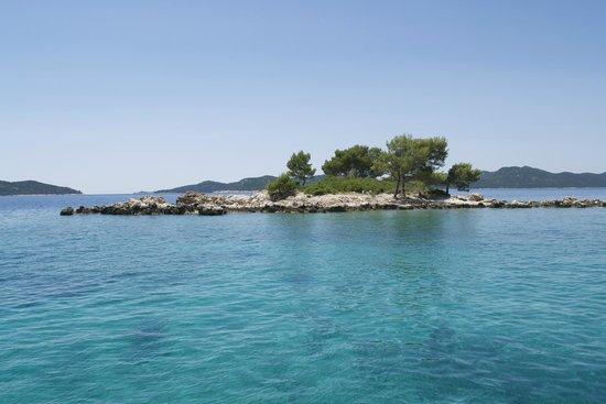 Lafodia Hotel & Resort: En av badplatserna på 3 island Cruise
