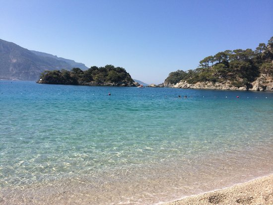 Strand von Ölüdeniz (Blaue Lagune): Beautiful
