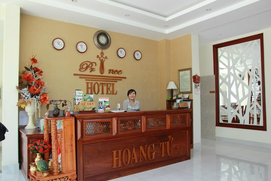 Hoi An Prince Hotel: reception area