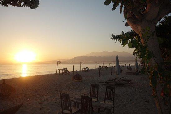 Hotel Tugu Lombok : The beach at Tugu