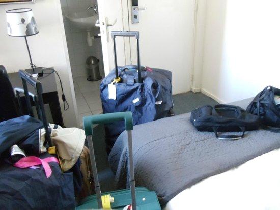 Quentin Amsterdam Hotel: no había lugar para entrar