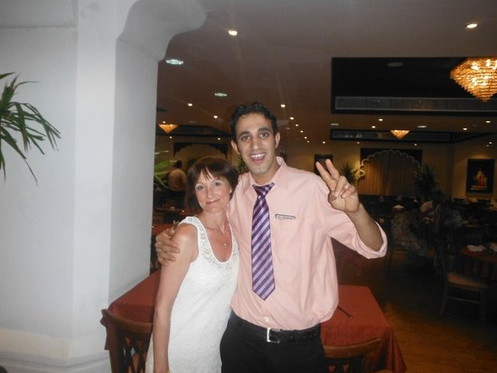 Sultan Gardens Resort : Elaine & Mahmed