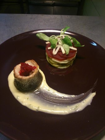 The Old Bridge Inn: Our baked herring special