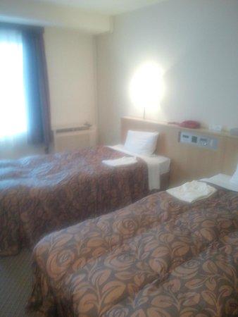 Akashi Castle Hotel: 結構広いツイン