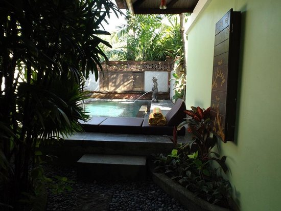 Rama Beach Resort and Villas : Pool at Suite Pool Villa No. 126