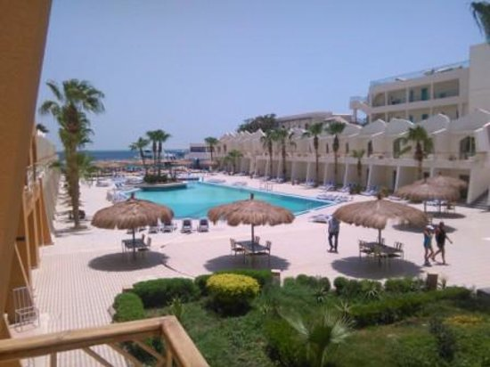 Club Hotel Aqua Fun : Вид из окна