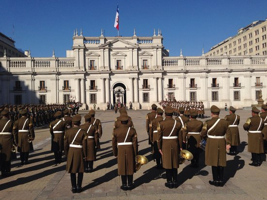 Free Walking Tour of Santiago: Changing of the guard