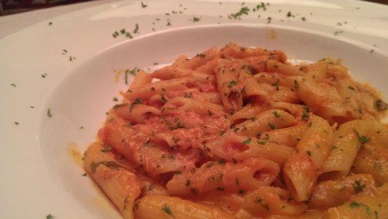 Leonardo Davinci: Crabmeat Penne Pasta