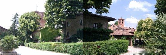 Castello di Rivalta: il borgo