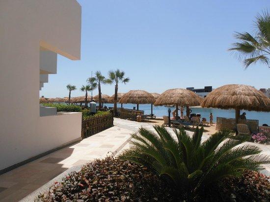 SUNRISE Grand Select Crystal Bay Resort: Vue depuis notre terrasse