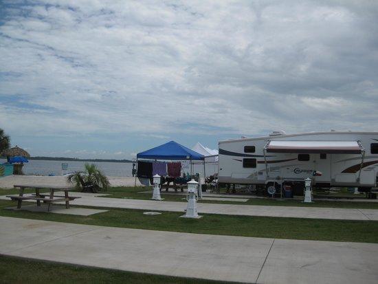 Pensacola Beach RV Resort: A Great Premium Site