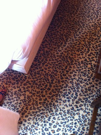 Hotel L'Europe Colmar: moquette humm