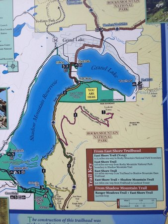 Sagebrush BBQ & Grill : Great hiking trail just outside of Grand Lake, CO