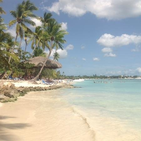 Dreams La Romana Resort & Spa : la plage de l'hotel