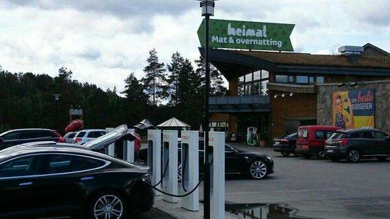 Heimat Brokelandsheia: Heimat.no Telsa Supercharger