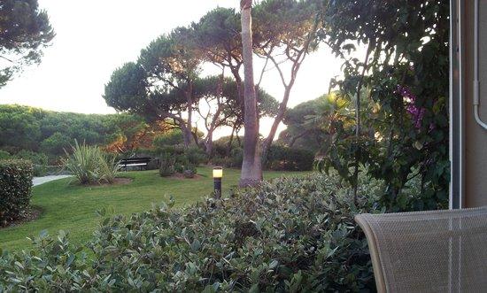 Valentin Sancti Petri Hotel Chiclana: vista desde el comedor