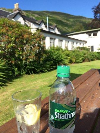 The Brander Lodge Hotel & Bistro : fab gardens!