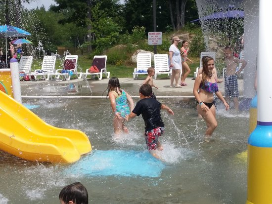 Liquid Planet Water Park: Kids Playing