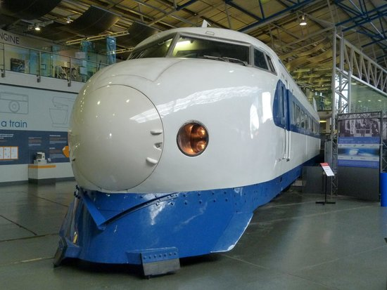 National Railway Museum: Bullet Train from Japan