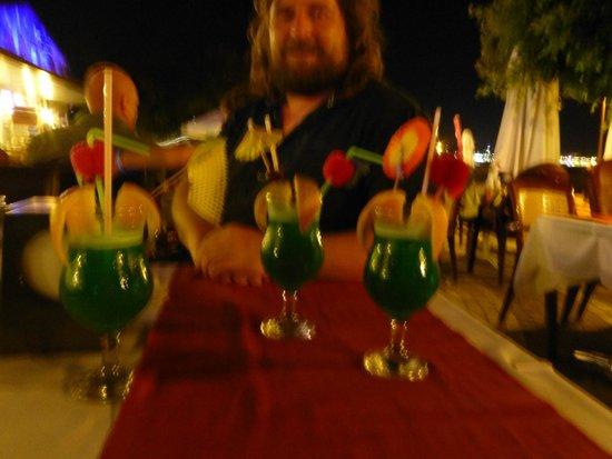 Nova Beach: Drei der Überraschungscocktails (siehe Text)