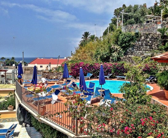 Aragona Palace Hotel : roof top pool