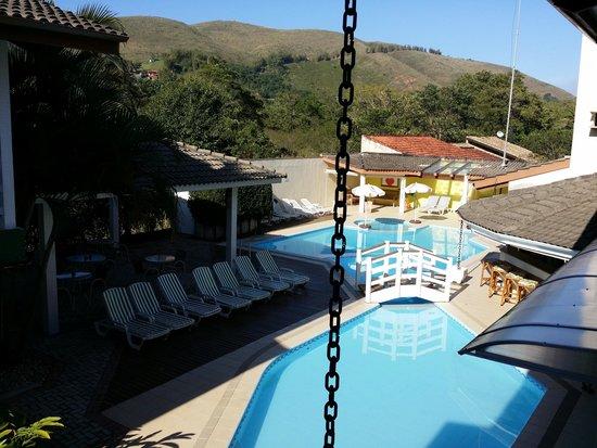 Ciribai Praia Hotel: Vista do Apartamento