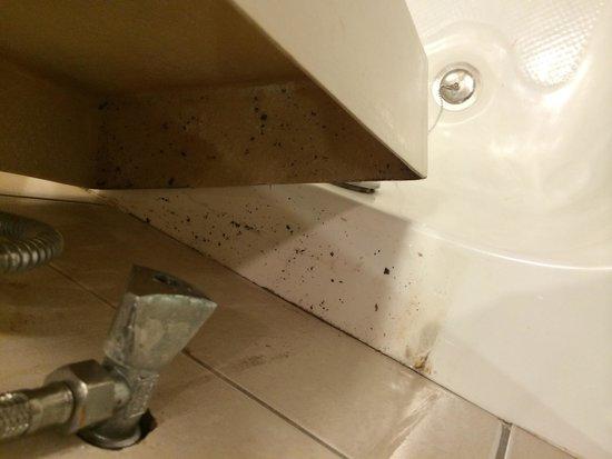 Golden Tulip Khatt Springs Resort & Spa: Dirt in Bathroom