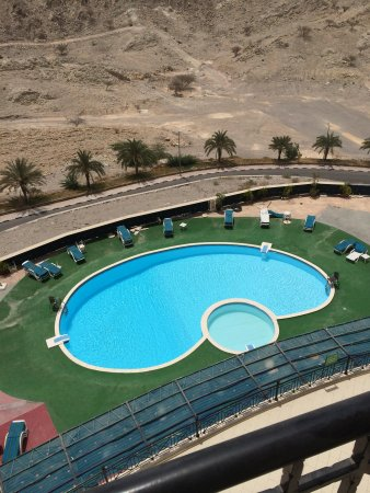 Golden Tulip Khatt Springs Resort & Spa: Pool - differs from marketed photos