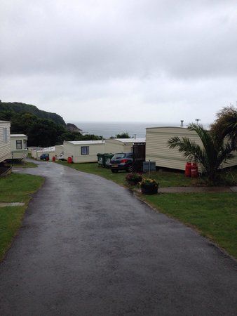 Sandaway Beach Holiday Park: In the park.