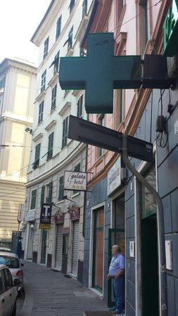 Hotel Galata : Fachada do Hotel