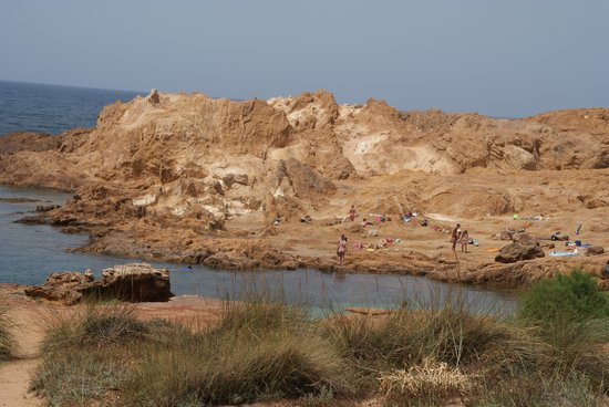 Cala Pregonda: La Spiaggia