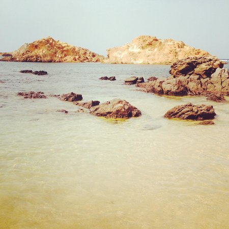 Cala Pregonda: Spiaggia
