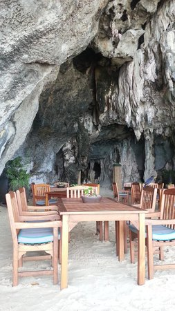 Phra Nang Beach : The Grotto at Rayavadee