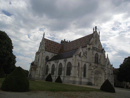 Royal Monastery of Brou: Vue extérieure de l'Eglise ...