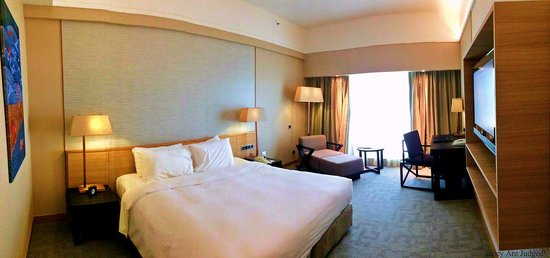 Grand Mercure Singapore Roxy: angenehmes Zimmer