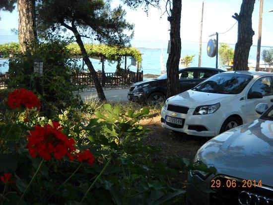 Esperia : parking