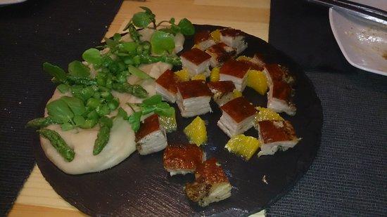 Louro Tapas Bar e Restaurante: adoro esta barriga de leitão...