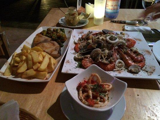 PK's @ Pasquiere Restaurant & Gastropub: Il plateu