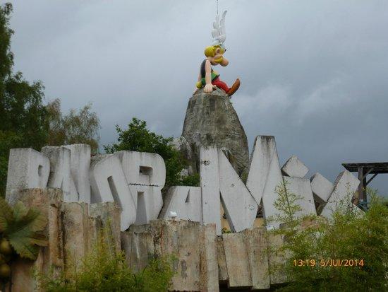 Parc Asterix: Vue d'ASTERIX