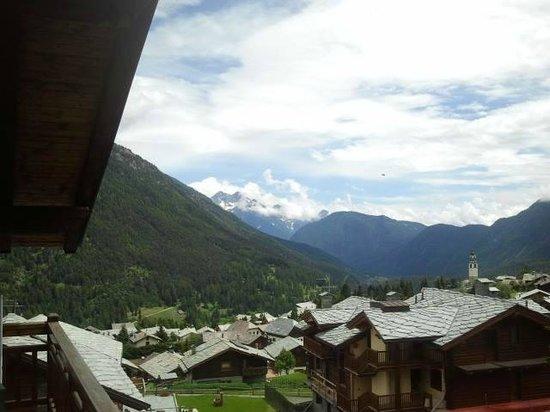 Hotel Le Clocher: Vista dal nostro balconcino
