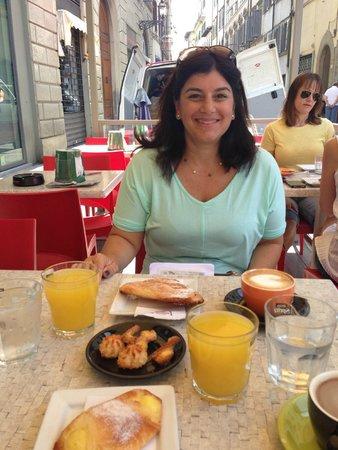 Locanda de' Ciompi : Breakfast spot