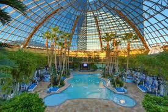 Domed pool picture of harrah 39 s resort atlantic city for Pool show new jersey