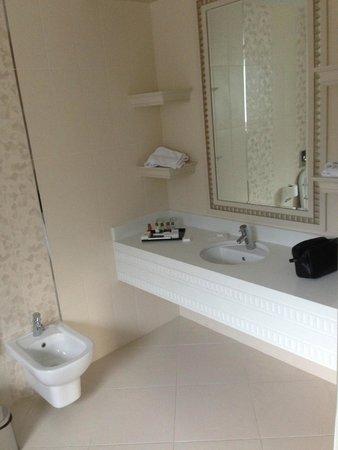 QafqaZ Riverside Resort Hotel : ванная комната