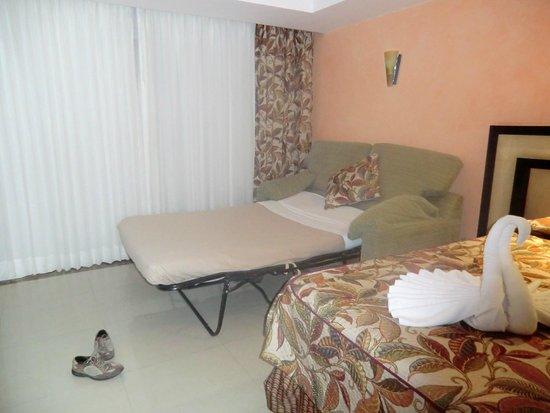 Sandos Playacar Beach Resort : La prima camera che abbiamo avuto