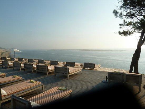 Restaurant La Co(o)rniche : coucher de soleil